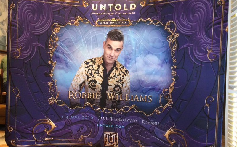 Robbie Williams vine la UNTOLD!